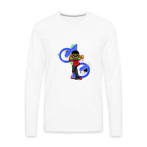 OBE1plays - Men's Premium Long Sleeve T-Shirt