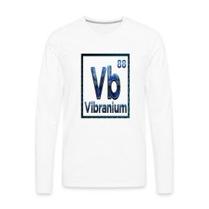 Periodic Element VIBRANIUM 88 - Men's Premium Long Sleeve T-Shirt
