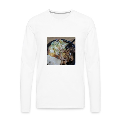 First one - Men's Premium Long Sleeve T-Shirt
