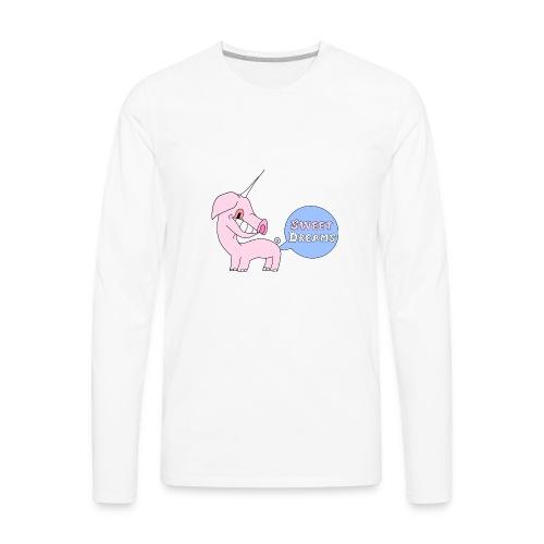 Unipig - Men's Premium Long Sleeve T-Shirt