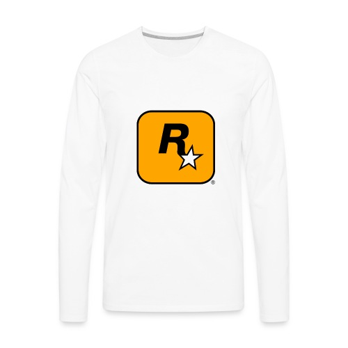 Rockstar Games Theme - Men's Premium Long Sleeve T-Shirt