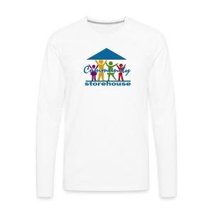 Storehouse Logo Series - Men's Premium Long Sleeve T-Shirt