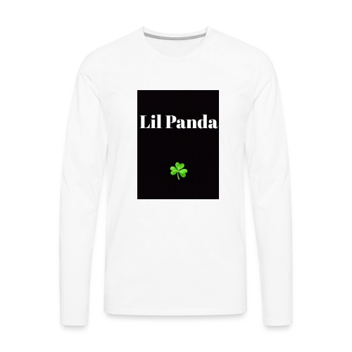 Lil Panda merch - Men's Premium Long Sleeve T-Shirt