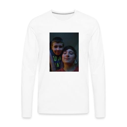 Aiden and evan - Men's Premium Long Sleeve T-Shirt