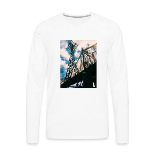 Ed Koch bridge - Men's Premium Long Sleeve T-Shirt