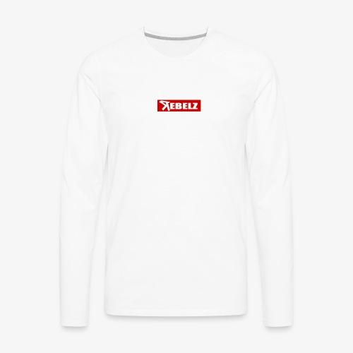 Rebelz Supreme - Men's Premium Long Sleeve T-Shirt