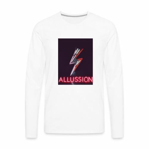 Vintage Allussion Merch - Men's Premium Long Sleeve T-Shirt