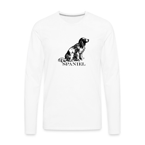 Spaniel - Men's Premium Long Sleeve T-Shirt