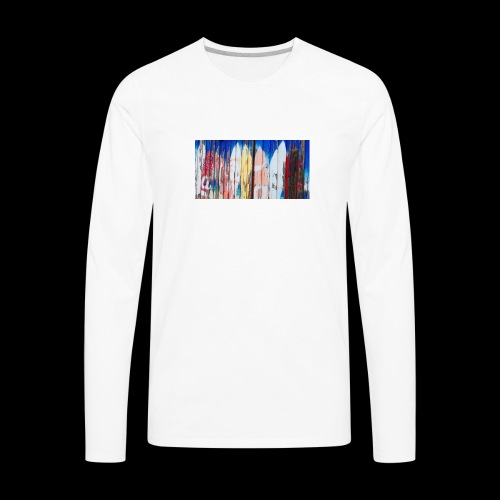 surfing dreams - Men's Premium Long Sleeve T-Shirt