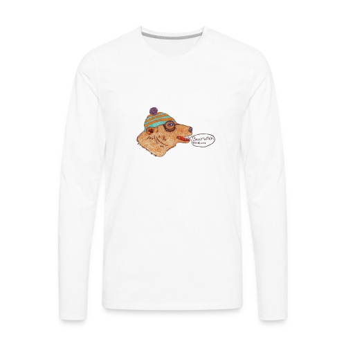 bear with me - Men's Premium Long Sleeve T-Shirt