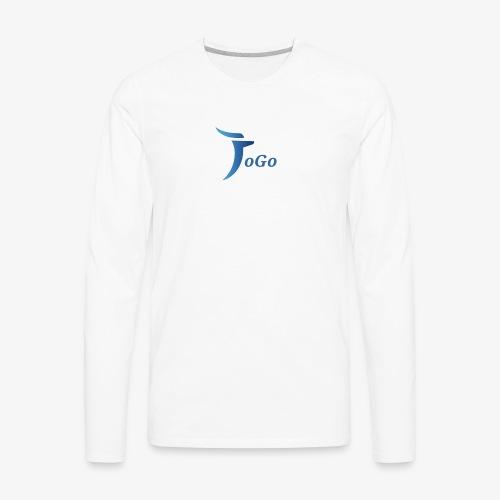 JoGo's Logo - Men's Premium Long Sleeve T-Shirt