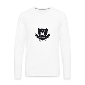BicycleKickTV Classic Logo - Men's Premium Long Sleeve T-Shirt
