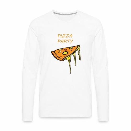 Pizza Party - Men's Premium Long Sleeve T-Shirt