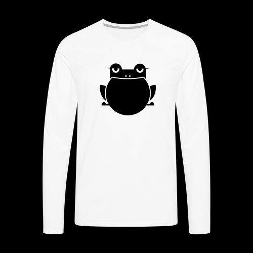 Toad Logo Black - Men's Premium Long Sleeve T-Shirt