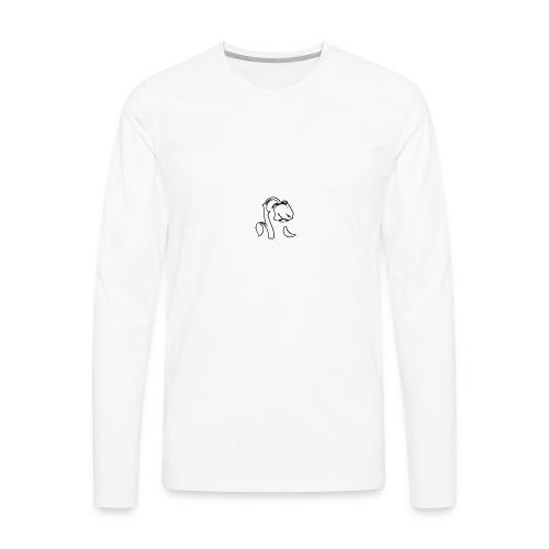 dead rose - Men's Premium Long Sleeve T-Shirt