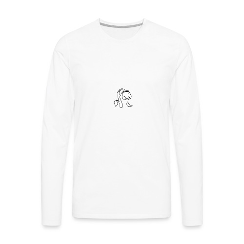 dead rose - Men's Premium Long Sleeve T-Shirt