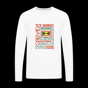 OC Grenada - Men's Premium Long Sleeve T-Shirt