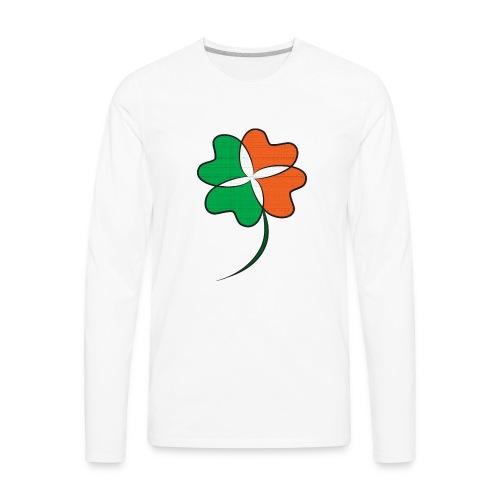 Irish Clover - Men's Premium Long Sleeve T-Shirt