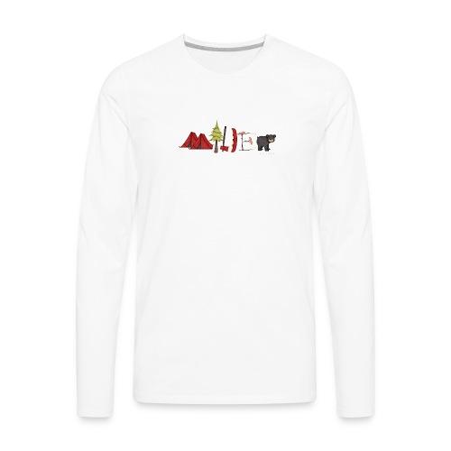 milder family reunion - Men's Premium Long Sleeve T-Shirt
