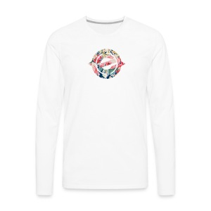 Logo Floral - Men's Premium Long Sleeve T-Shirt