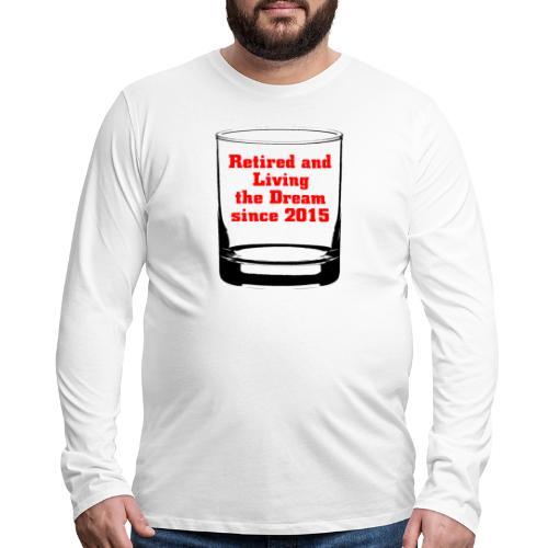 Retired 2015 - Men's Premium Long Sleeve T-Shirt