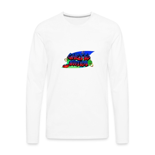 GHETTO HOG 5 (Plus Size) - Men's Premium Long Sleeve T-Shirt