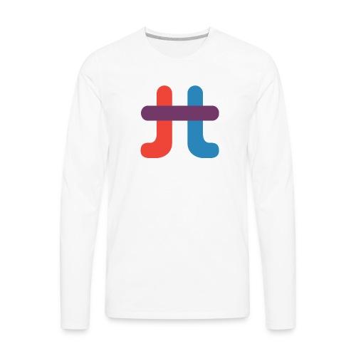 TucuTube Logo - Men's Premium Long Sleeve T-Shirt