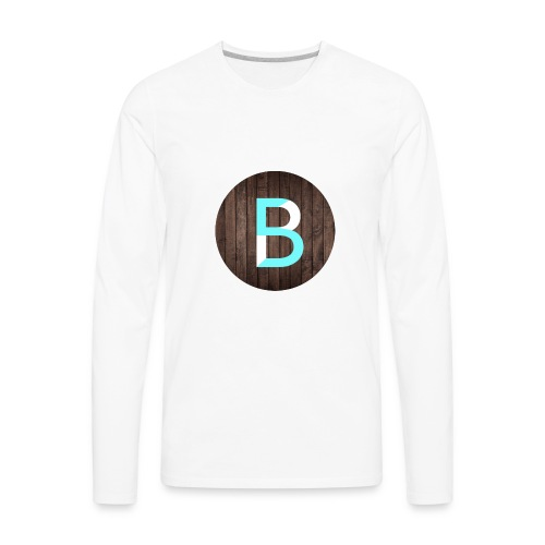 updated logo - Men's Premium Long Sleeve T-Shirt