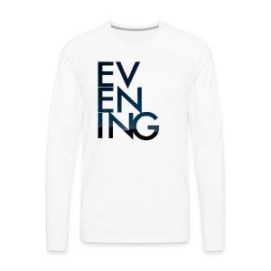 Evening Album Cover - Men's Premium Long Sleeve T-Shirt