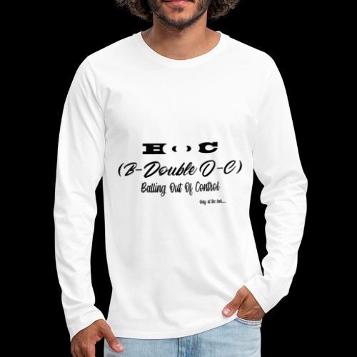 BOOC - Men's Premium Long Sleeve T-Shirt
