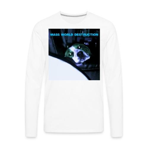 Mass World Depression - Men's Premium Long Sleeve T-Shirt
