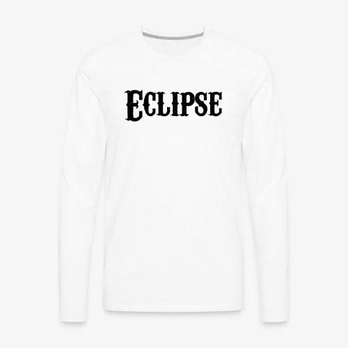 Vintage Eclipse - Men's Premium Long Sleeve T-Shirt