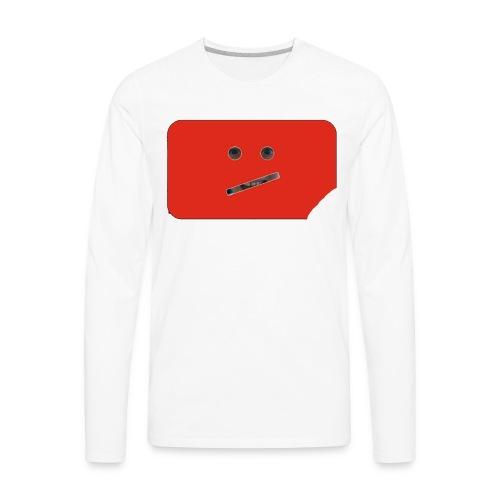 CraziLilBoy logo - Men's Premium Long Sleeve T-Shirt