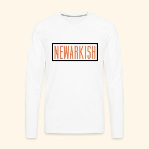 Newarkish Logo T - Men's Premium Long Sleeve T-Shirt