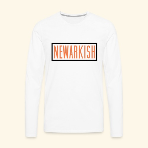 Newarkish Logo T - Men's Premium Long Sleeve T-Shirt