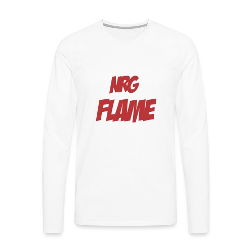 Flame For KIds - Men's Premium Long Sleeve T-Shirt