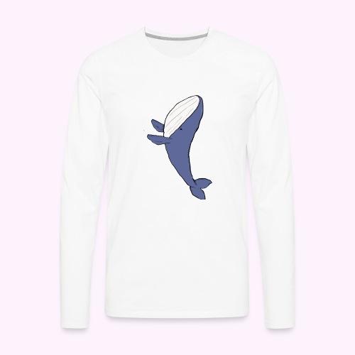 Whale Jumping - Men's Premium Long Sleeve T-Shirt