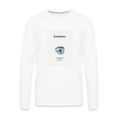 Feminist are not only women(2) - Men's Premium Long Sleeve T-Shirt