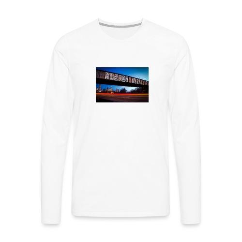 Husttle City Bridge - Men's Premium Long Sleeve T-Shirt