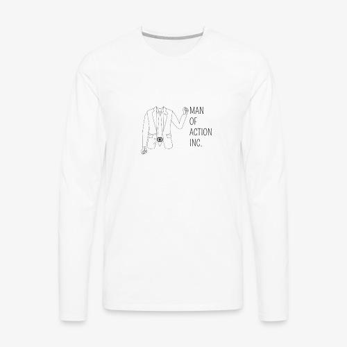 Suit - Men's Premium Long Sleeve T-Shirt