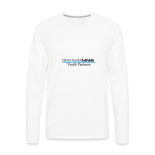 Front Range Youth Partners LOGO - Men's Premium Long Sleeve T-Shirt