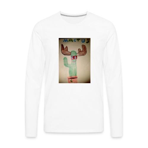Mactus Jerry and me - Men's Premium Long Sleeve T-Shirt