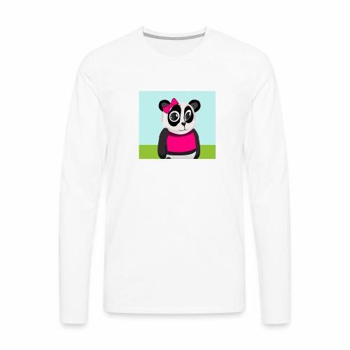 Panda Lilly - Men's Premium Long Sleeve T-Shirt