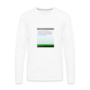 Banned - Men's Premium Long Sleeve T-Shirt