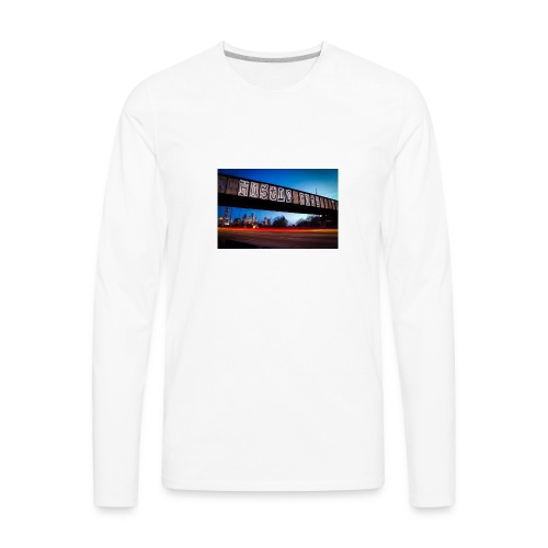 Husttle City Bridge - Men's Premium Long Sleeve T-Shirt