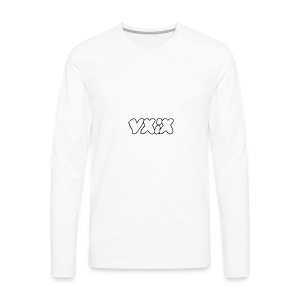 YXIX logo - Men's Premium Long Sleeve T-Shirt