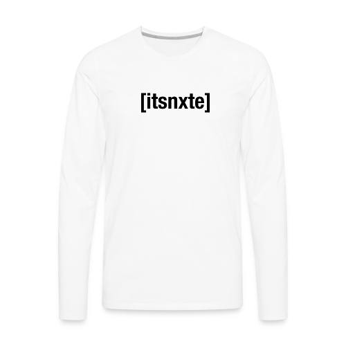 Adult Swim Black - Men's Premium Long Sleeve T-Shirt