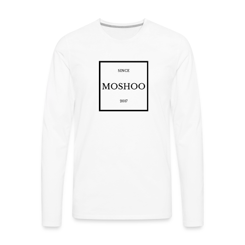 MOSHOO, SINCE 2017 ( moshoo brand ) - Men's Premium Long Sleeve T-Shirt