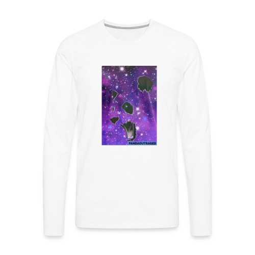 Pandaoutraged - Men's Premium Long Sleeve T-Shirt