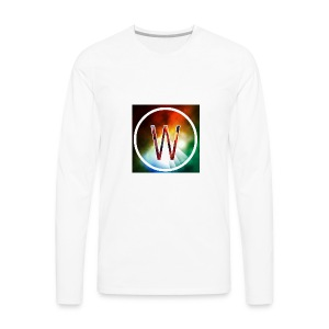 youtube logo - Men's Premium Long Sleeve T-Shirt